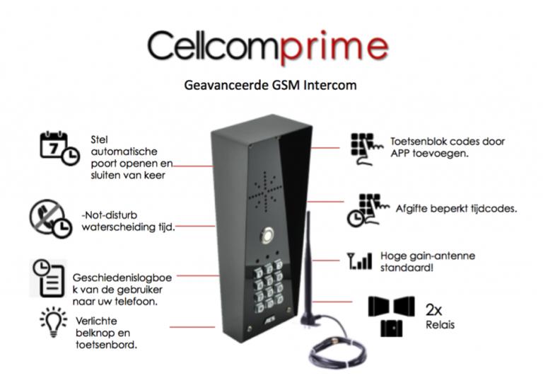 Wat Is Een Intercom.Gsm Intercom Met Automatische Toegang Van Aes Intercoms