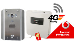AES PRE2-4GE/AS GSM Video Intercom