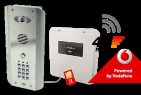 AES PRE2-4GE/ASK GSM Video Intercom